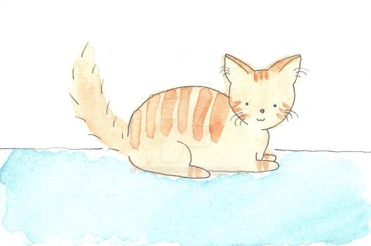 Orange Tabby by mochi1990