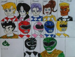 Power Ranger Roster by JQroxks21