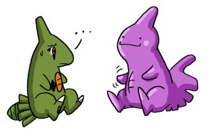 VP Request-Ditto and Larvitar