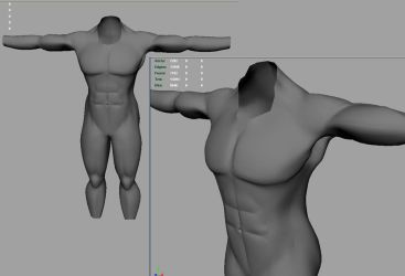 3d body model by truckless
