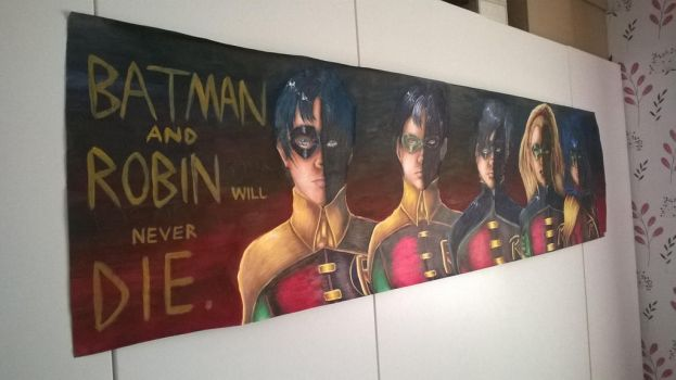 Batman and Robin Will Never Die by Cee-CeeTheHedgie
