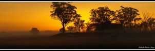 Sunrise Panorama by FireflyPhotosAust