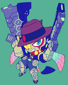 satellamon by extyrannomon