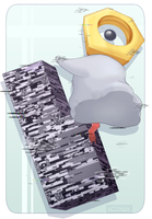 MISSINGNO  MELTAN by Takoto