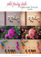 LR preset: Old Fairy Tale - Rosy Kiss by DorottyaS