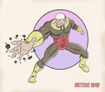 METEOR MAN by paintmarvels
