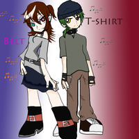 Belt and T-shirt PASWG OC by Shadana