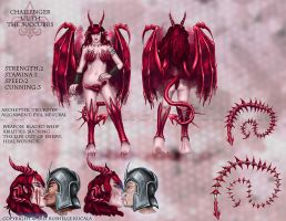 Lilith Challenger Sheet by TheDragonofDoom