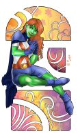 Miss Martian by Autumn-Sacura