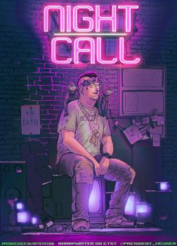 NightCall BoxArt by SharpWriter