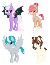 MLP Adoption Ocs /OPEN/ !!! by MoonlightMovieYT