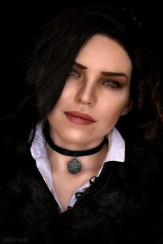 Yennefer Witcher by TophWei