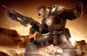 GEARS OF WAR 2 by PatrickBrown