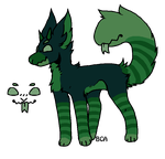Monster Doggo [AUCTION] [CLOSED] by ThebestKatoheartpets