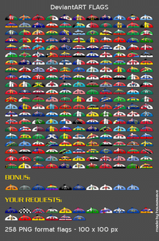 DeviantART Country Flags by housewave