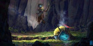 Boy and Bot 1 - The Discovery by JoshHutchinson