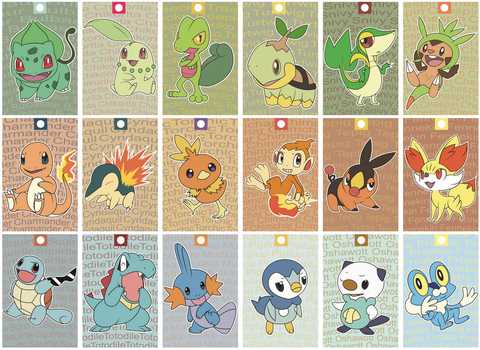 01. All Starters by Phantomania
