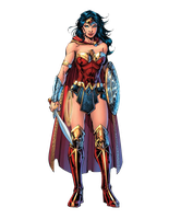 Wonder Woman (Rebirth) - Transparent by Asthonx1