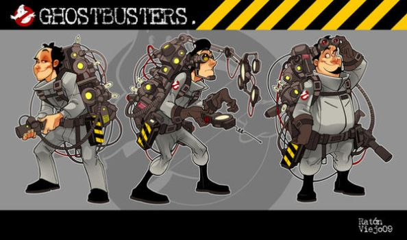 Ghostbusters by ratonviejo