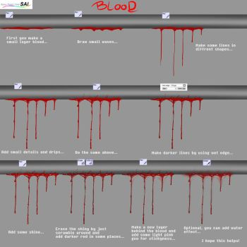 Tutorial - Dripping blood by Poka-SorM