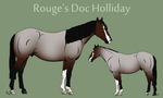 Rouge's Doc Holliday by theRyanna