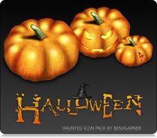 Halloween Icon Pack by Benjigarner