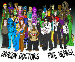 5 Years of Dragon Doctors by Oddsquad