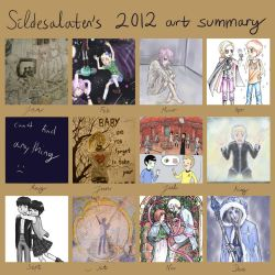 2012 Art Summary by Sildesalaten
