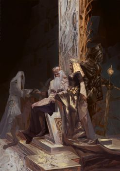 king by NikYeliseyev
