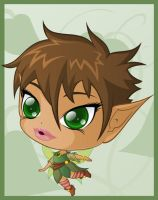 Faerie - Chibi Commission by TiffanySketches