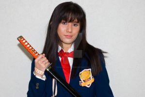 Gogo Yubari school girl by KawaiiKonPhotos
