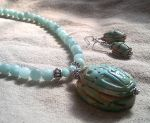 another scarab necklace by thebluekraken
