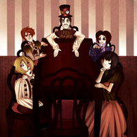 A Victorian Tea Party by Vivyi