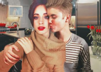 Justin and Camila by MarieShadow