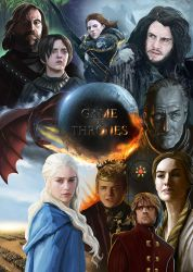 Game of Thrones by barelt1