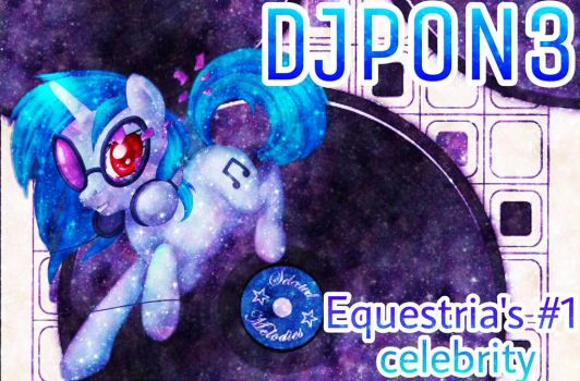 Dj Pon3 Galaxy Edit  by MettaraTheFabulous