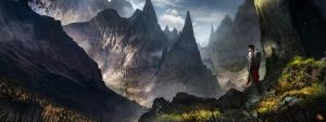 City in the moutain by FlorentLlamas