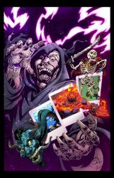 Spellbound Cover C color - lores by JeffGraham-Art