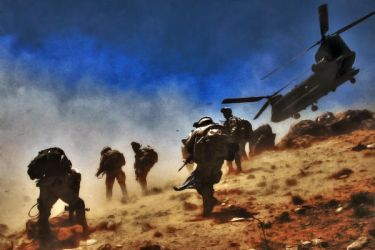 US Army HDR by AfroAfrican