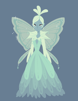 Snowdrop Fairy by mintycanoodles
