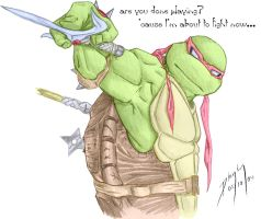 Raphael full color by FireDolphin