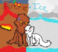 Fire and Ice by Flapper812-or-Shadow