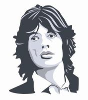 Mick Jagger by lookingfromdownunder