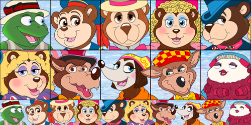 Icons- Beary Tales by Cavity-Sam