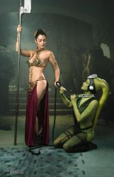 Slave Leia and Oola by Ivy95