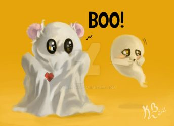 Boo Bear by girfreak8