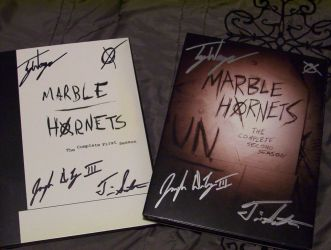 Marble Hornets DVDs for Mike by Agent-Sarah