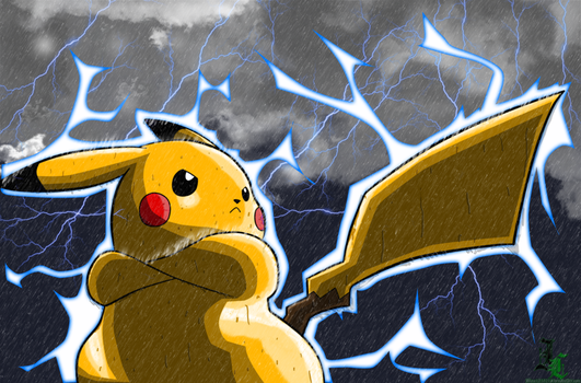 Epic Pikachu by SyndicateRichtofen62