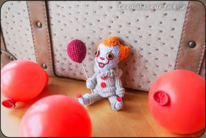 Pennywise Amigurumi by cristell15