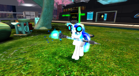 My Second life pony again In Full HD Graphics by Peckanmix